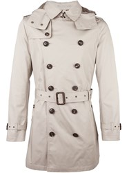 Burberry Brit Classic Trench Coat Nude And Neutrals