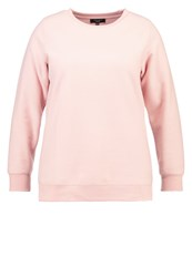 New Look Curves Sweatshirt Light Pink Rose