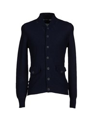 Blauer Knitwear Cardigans Men Dark Blue