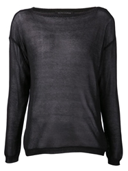 Ralph Lauren Black Sheer Blouse