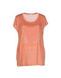 Escada Sport Topwear T Shirts Women Orange