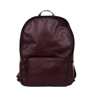 Xenab Lone Oxblood Leather Backpack Red