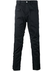 White Mountaineering Straight Leg Trousers Blue