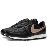 Nike W Air Pegasus '83 Premium Quilt Black And Metallic Rose Gold