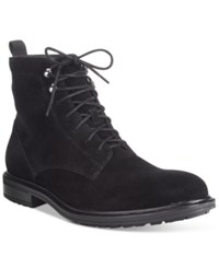 Alfani Men's Joey Plain Toe Boots Only At Macy's Men's Shoes Black