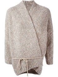 Humanoid 'Eagle' Cardigan Nude And Neutrals