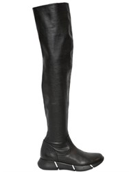 Elena Iachi 20Mm Stretch Faux Leather Boots