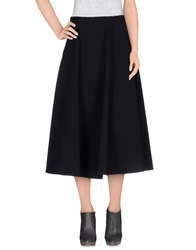 Mangano 3 4 Length Skirts Black
