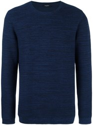 Calvin Klein Crew Neck Jumper Blue