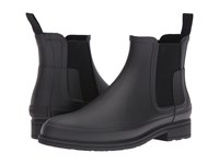 Hunter Original Refined Chelsea Black Men's Boots