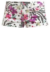 Guess New Amelia Shorts Fantaisie Florale White