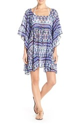 Women's Jessica Simpson 'To Dye For' Chiffon Cover Up Tunic