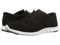 Cole Haan Zerogrand Perf Trainer Black Perf Nubuck Optic White Women's Shoes