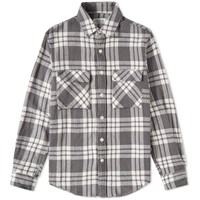 Tomorrowland Al Dente Check Shirt Grey