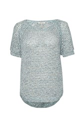 Great Plains Nile Valley Knit T Shirt White
