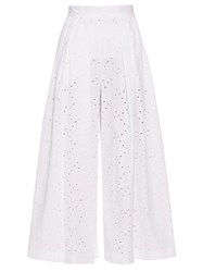 Stella Jean Broderie Anglaise Culottes