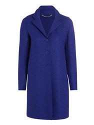 Marella Improbi Classic 3 Button Wool Coat Royal Blue