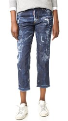 Dsquared Boyfriend Jeans Blue