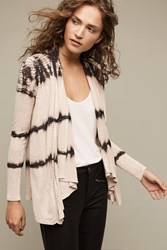 Anthropologie Rising Tide Cardigan Neutral Motif