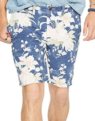 Polo Ralph Lauren Straight Fit Floral Maritime Shorts Bleached