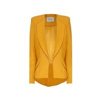 Hebe Studio The Hebe Suit Ochre Girlfriend Blazer Yellow Orange