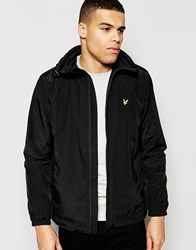 Lyle And Scott Jacket With Hood In Black Black