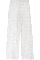 Miguelina Jemma Crocheted Cotton Pants