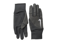 Nike Women's Storm Fit 2.0 Run Gloves Black Black Athletic Sports Equipment