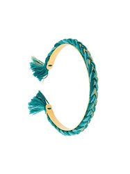 Aurelie Bidermann 'Copacabana' Thin Bangle Green