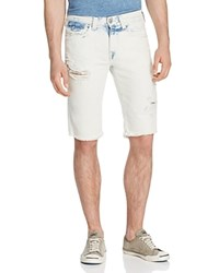 True Religion Ricky Relaxed Fit Denim Shorts In Worn Sunfaded