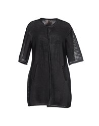 Es'givien Coats And Jackets Full Length Jackets Women Black