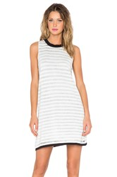 Evil Twin Passcode Tank Dress White