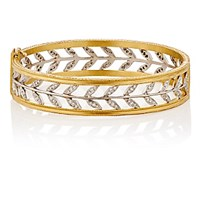 Cathy Waterman Women's Wheat Bangle No Color