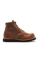 Red Wing Shoes 6 Inch Moc Cognac