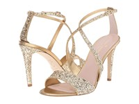Kate Spade Felicity Gold Glitter Old Gold Metallic Nappa