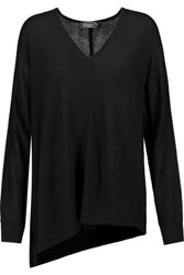 Magaschoni Silk And Cashmere Blend Sweater Black
