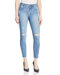 Nobody Cult Skinny Destructed Ankle Jeans In Prize