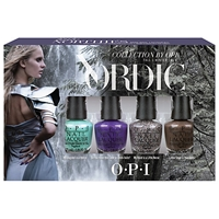 Opi Nails Nail Lacquer Nordic Collection Mini Pack Gift Set