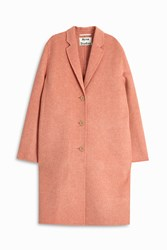 Acne Studios Avalon Double Coat Rose