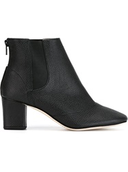 Repetto Chunky Heel Ankle Boots Black
