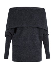 Acne Studios Daze Off The Shoulder Sweater Blue