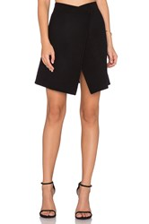 Cacharel Asymmetrical Skirt Black