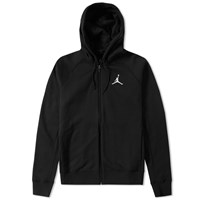 Nike Jordan Brand Flight Fleece Zip Hoody Black