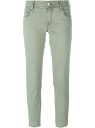 Jacob Cohen Classic Skinny Jeans Green