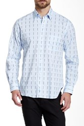 Tailorbyrd Quakers Long Sleeve Woven Shirt Blue