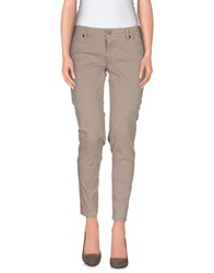Superfine Trousers Casual Trousers Women Light Grey