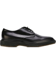 Henderson Fusion Lace Up Derby Shoes Black