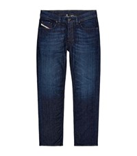 Diesel Larkee Dark Rinse Straight Jeans Male Blue