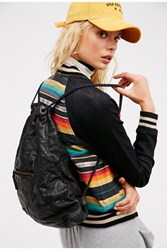 Free People Womens Granby Leather Backpack