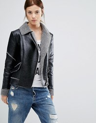 Urbancode Aviator Jacket Black